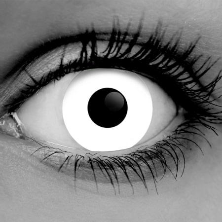 Zombie White Contact Lenses