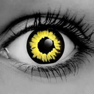 Black Wolf Contact Lenses