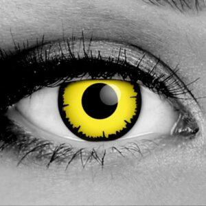 Angelic Yellow Contact Lenses