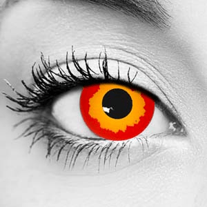 Fire Contact Lenses