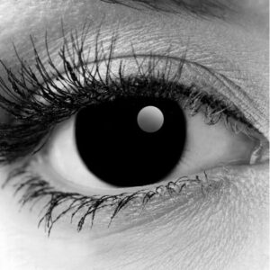 Gothika Black Out Contact Lenses