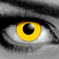 Zombie Yellow Contact Lenses