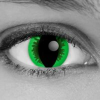 Green Reptile Contact Lenses