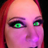 Green Rave Lenses