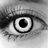 White Angelic Contact Lenses